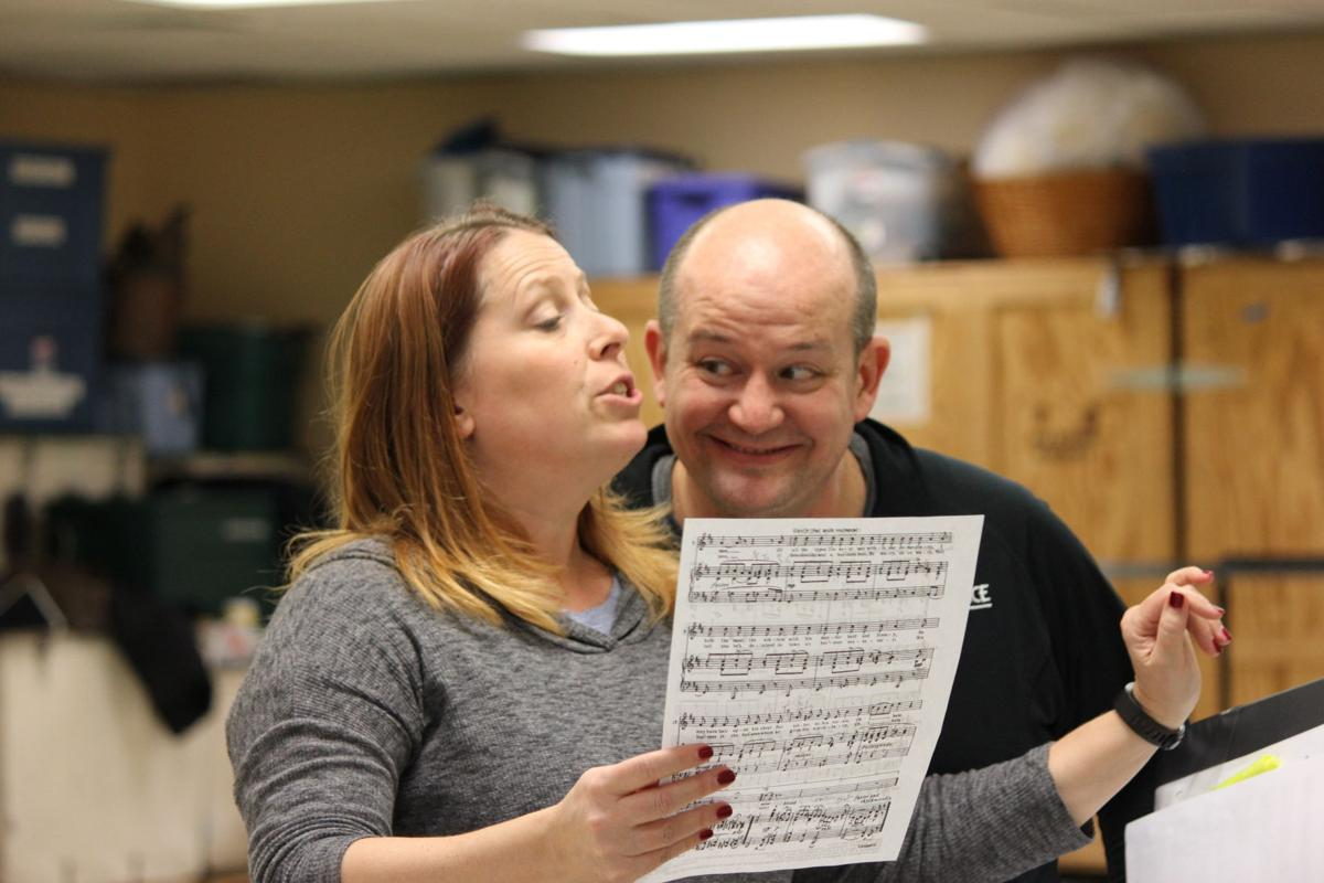 broadway voices inspired by shakespeare s plays music host bard on broadway rehearsal