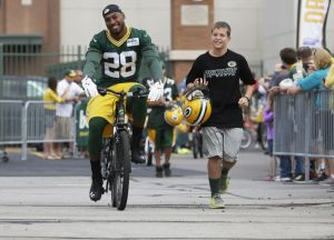 Photos: The bikes are out so the Pack must be back