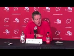 Video: UW coach Gary Andersen outlines new policy on Paul Bunyan's Axe celebration