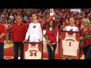UW coach Bo Ryan on Senior Night