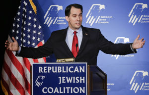 Scott Walker blogs about his trip to Israel