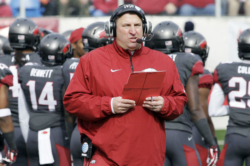 Bret Bielema's 'fall from coaching grace' | Living in ...