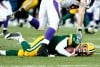Aaron Rodgers sack, Jared Allen, Vikings at Packers