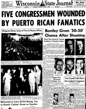 Pages from history Mar. 2, 1954