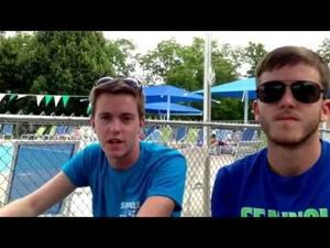 Video: Sisson brothers look forward to coaching in Madison's All-City Diving meet