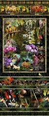 Orchid Specimen Panel by Lisa Frank