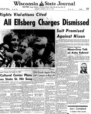 Pages from history May 12, 1973