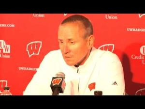 Video: Northwestern resilient, very good, UW's Gary Andersen says
