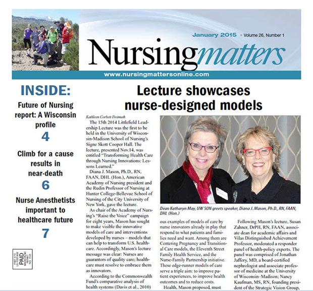 Nursing Matters January 2015
