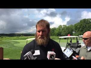 Video: Ex-Badgers OL Travis Frederick saw head coaching future in Paul Chryst when he played for him