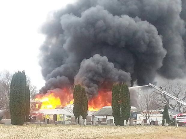 Fire destroys Muscoda's Castle Rock Inn
