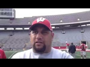 Video: Badgers DL coach Inoke Breckterfield says 'we're a long way from where we want to be'