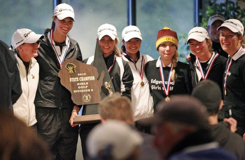 WIAA state girls golf | Madison Edgewood wins