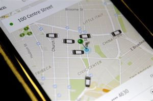 Police: Woman says Uber driver touched her inappropriately