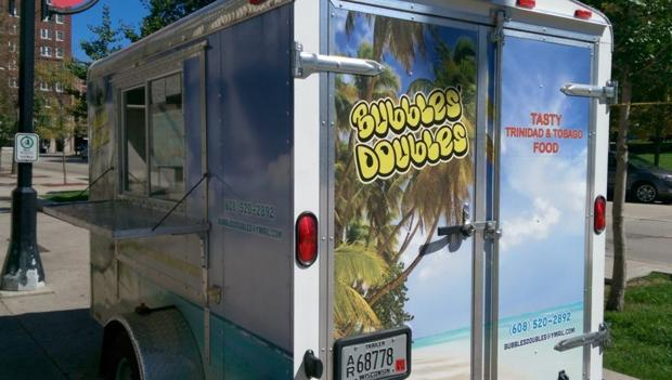 Bubble's Doubles food cart offers tasty treats from Trinidad