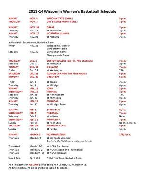 Printable Ku Men S Basketball Schedule | Search Results | Calendar 2015