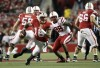 Wisconsin vs. Nebraska Russell Wilson scrambles (copy)
