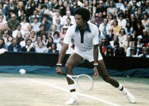 Photos:  Anniversary Arthur Ashe wins Wimbledon