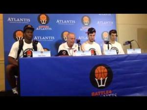 Video: Badgers coach Bo Ryan, players meet the media after winning the Battle 4 Atlantis