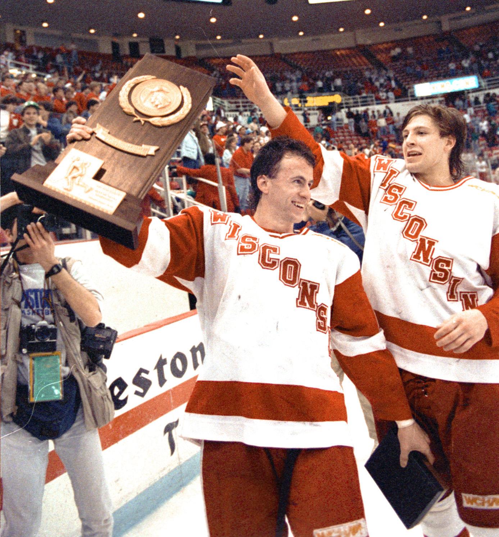 BIG10: Badgers - Wisconsin Has Experienced Triumph, Pain At Joe Louis Arena