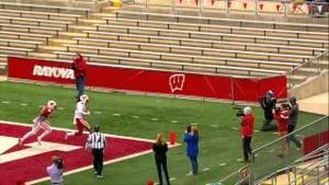 2015 Wisconsin Football Spring Game highlights