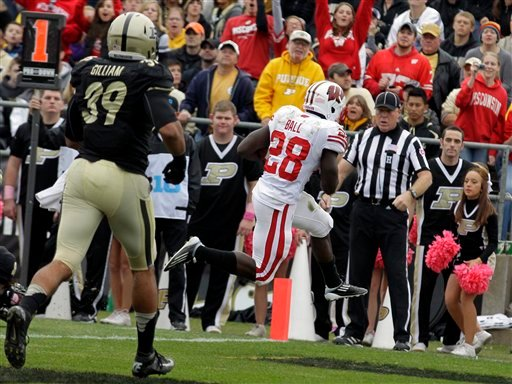 Photos: Badgers take it to Purdue | College Football ...