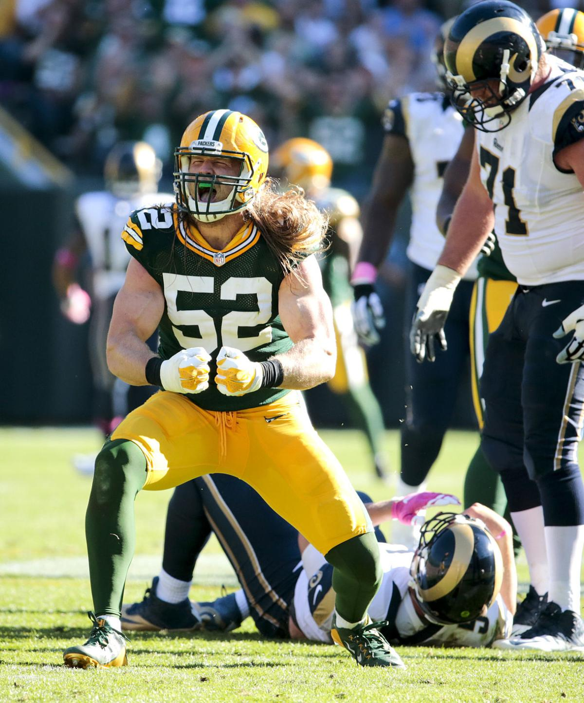 Packers Tackles Sacks Eluding Clay Matthews In Last 2