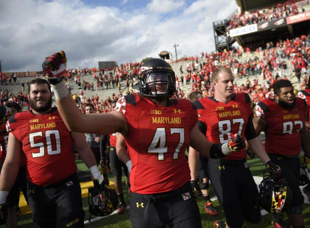 Tom Oates: Maryland newbie to Big Ten, but clearly no pushover