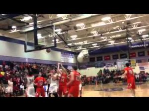 Video: Sun Prairie's Malik Robinson forces OT on a layup