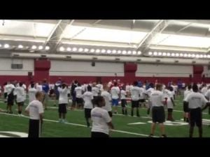 Highlights from the Russell Wilson Passing Academy