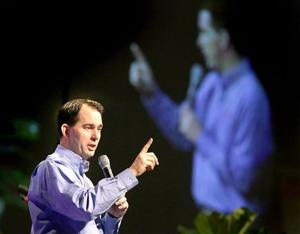 Scott Walker's first four years as governor: 137,400 jobs added, 55 percent of goal