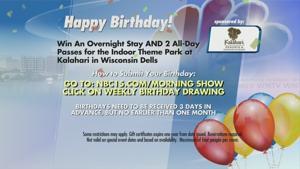 The Morning Show: Birthdays 8-30-15