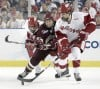 Justin Schultz, UW men's hockey vs. Boston college