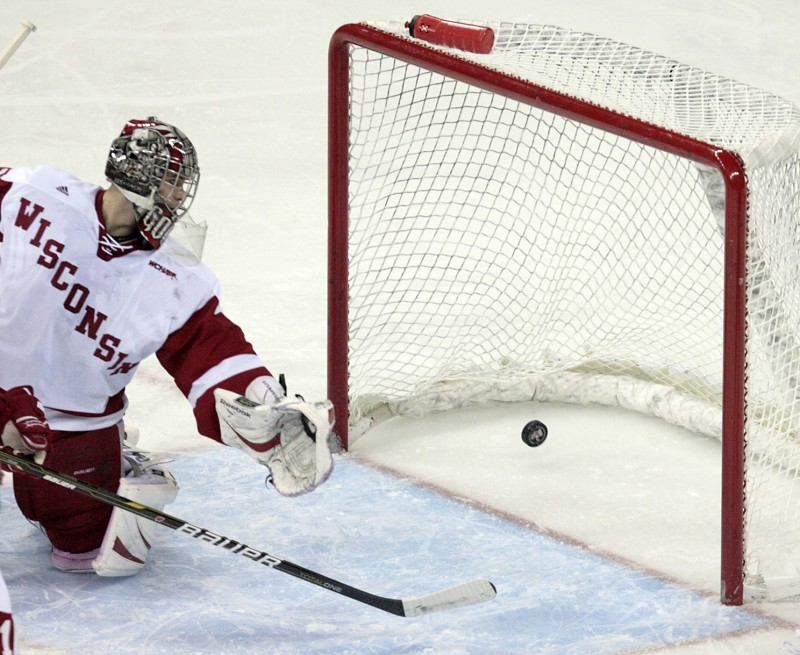 WCHA: Badgers' Goal Is To Find A Goalie