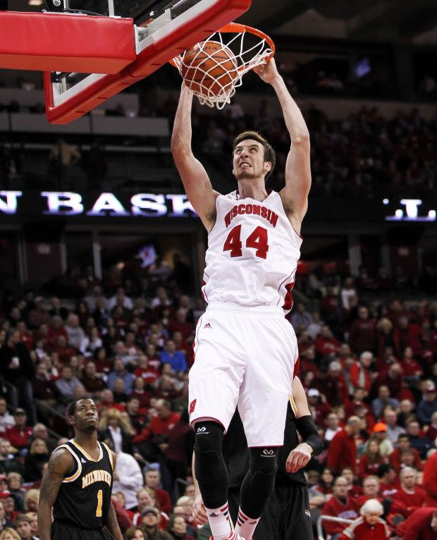 Badgers men's basketball: Frank Kaminsky returns to ...