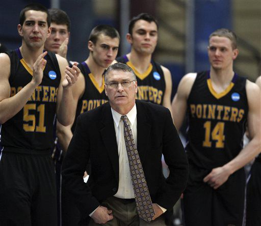 College men 39 s basketball uw stevens point suspends head for Department of motor vehicles stevens point wisconsin