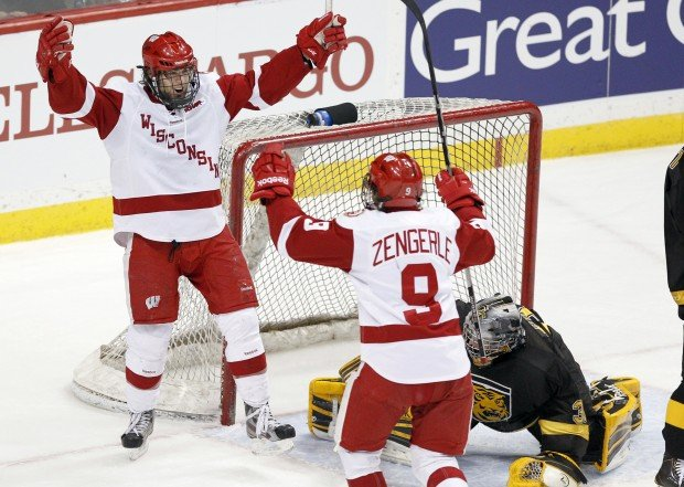 Badgers men's hockey: Streaky Tyler Barnes looking to regain scoring touch