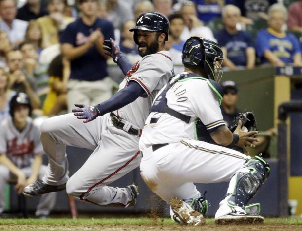 Brewers: Atlanta roughs up Kyle Lohse, ends Milwaukee's eight-game winning streak