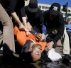 Waterboarding protest