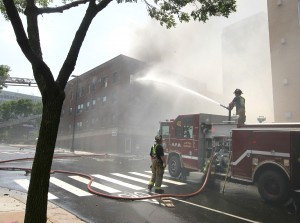 Building owner 'devastated' by apartment fire