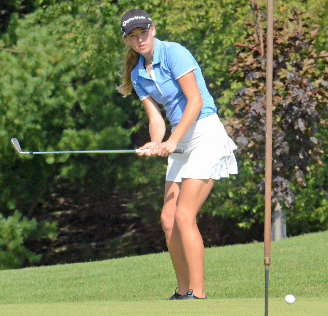 Win badger conference titles high school golf host madison com