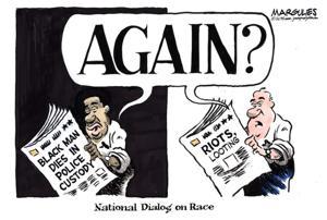 Editorial cartoon (5/1/2015)