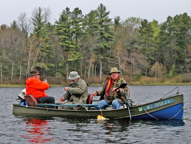 Patrick durkin year round fishing in wisconsin has its for Wi fishing season