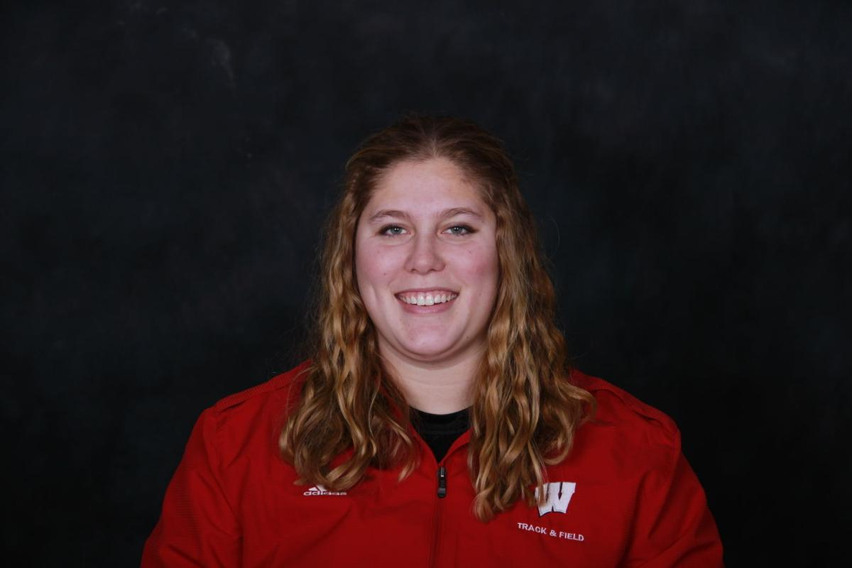 Badgers Track And Field Kelsey Card Steps Into History With Hammer Throw College Sports
