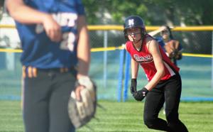 Photos: Monroe falls to Delavan-Darien in softball