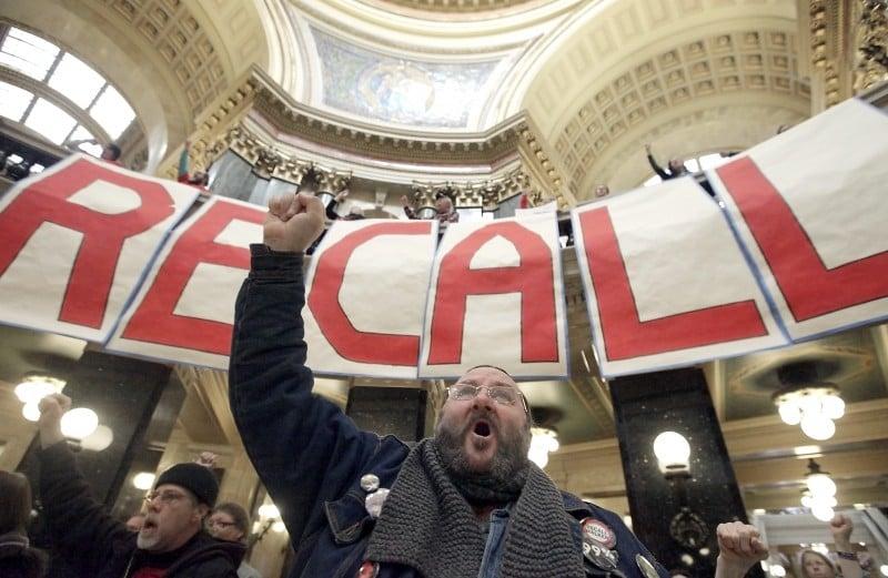 Capitol recall rally