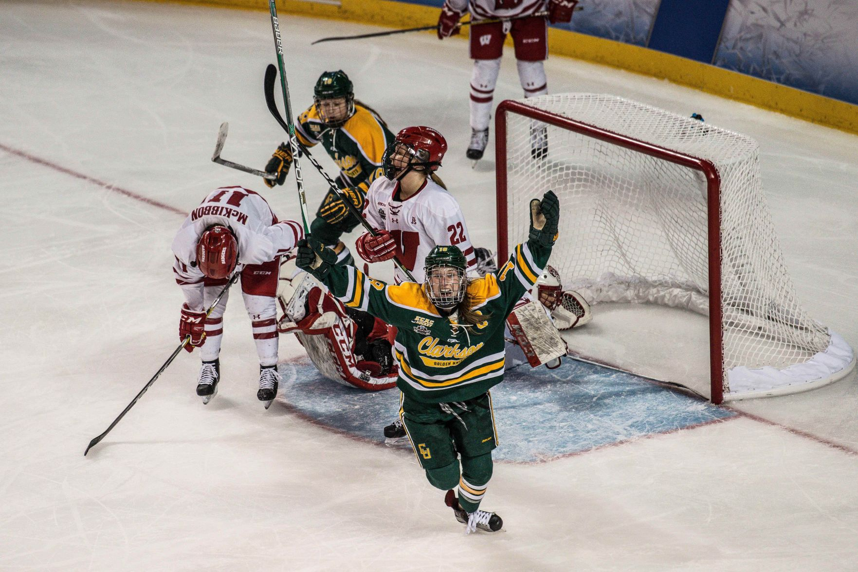 NCAA: Women - Golden Knights Defeat Wisconsin For National Title