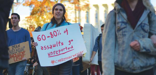 Students organize to protest sexual assault policy