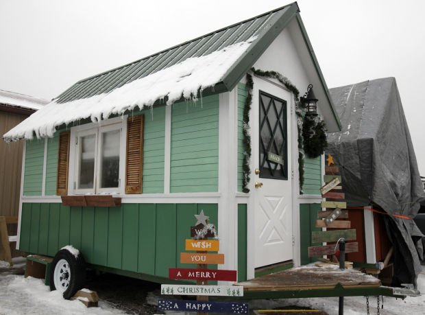First tiny home to be occupied thanks to a village effort Local