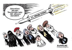 Editorial cartoon  (5/3/215)